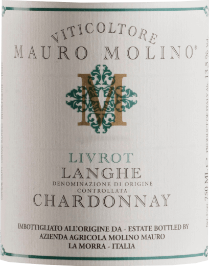 Livrot Chardonnay Langhe DOC 2016 - Mauro Molino von Mauro Molino