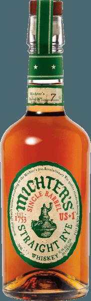 Der Michter's US*1 Single Barrel Straight Rye Whiskey leuchtet in einem goldbraunen Bernsteinton im Glas. Die Nase dieses edlen Whiskeys verheißt Aromen von Toffee und Haselnuss, ergänzt um Eichenholz, frisch zerstoßenen schwarzen Pfeffer, Zitronenschale und frisches Heu. Am Gaumen begeistert der Michter's US*1 Single Barrel Straight Rye Whiskey mit Fülle, Würze und einem weichen und gleichzeitig griffig-feurigen Abgang. Ein echter Genuss, idealerweise bei Zimmertemperatur in einem Nosingglas. Der Michter's US*1 Single Barrel Straight Rye Whiskey wird zum allergrößten Teil aus Roggen hergestellt und stammt aus einem einzigen Brennvorgang. Einen höheren Qualitätsanspruch kann man an einen Whiskey eigentlich nicht mehr stellen.