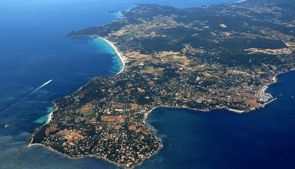 Die Halbinsel von Saint-Tropez