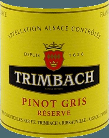 Pinot Gris Réserve Alsace AAC 2016 - F.E. Trimbach von Trimbach