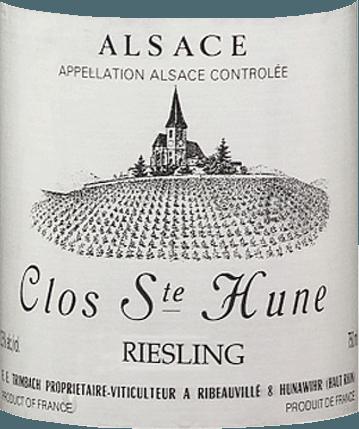 Riesling Clos Sainte Hune 2016 - F.E. Trimbach von Trimbach