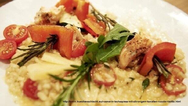 rosmarin-lachsspiess-mit-zitronigem-tomaten-rucola-risotto-vinello