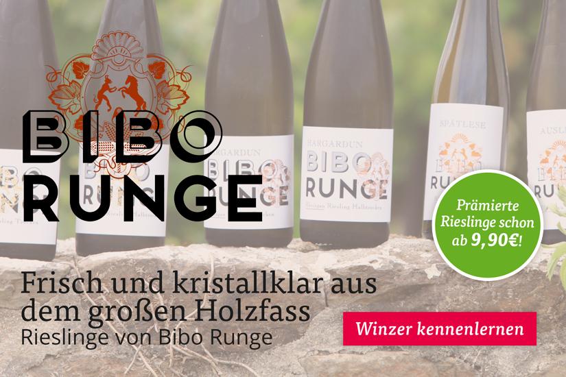 Rieslinge von Bibo Runge